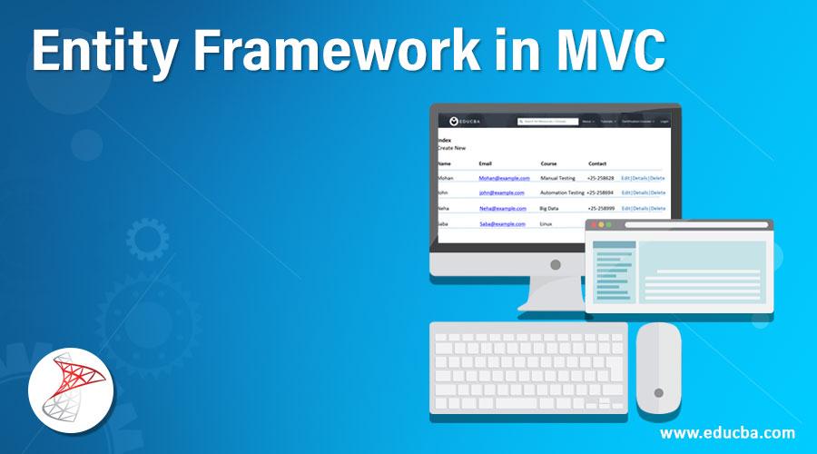 Entity Framework in MVC
