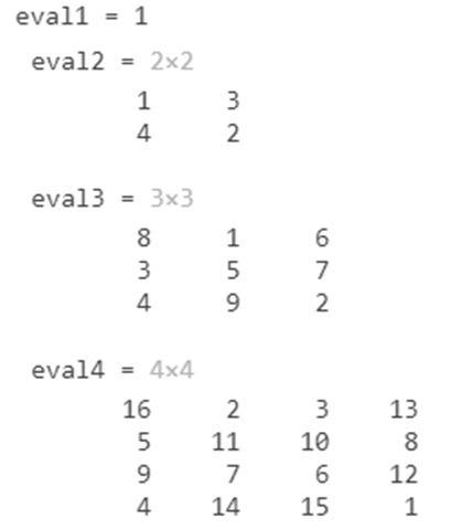 Eval Function MATLAB 2
