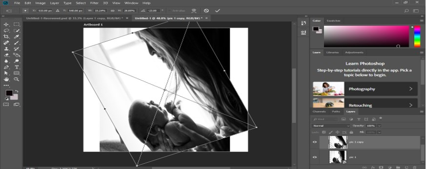 Fisheye Effect in Photoshop -10