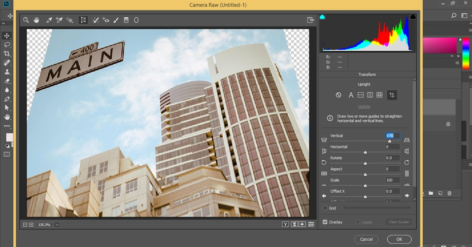 Fix Perspective in Photoshop - 14