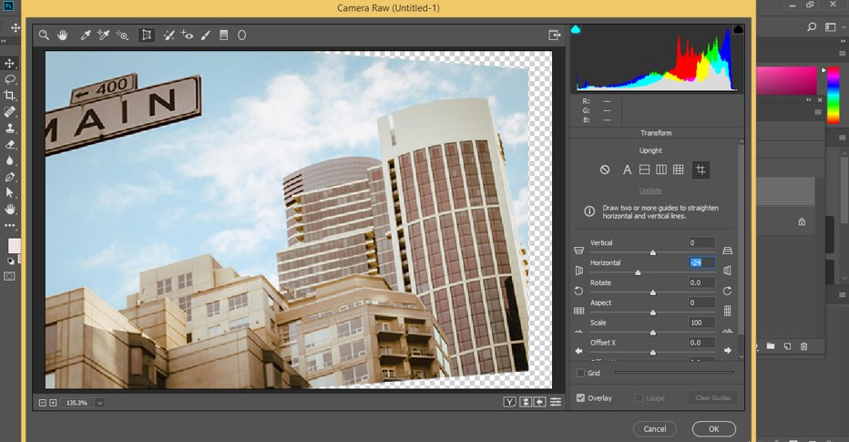 Fix Perspective in Photoshop - 15