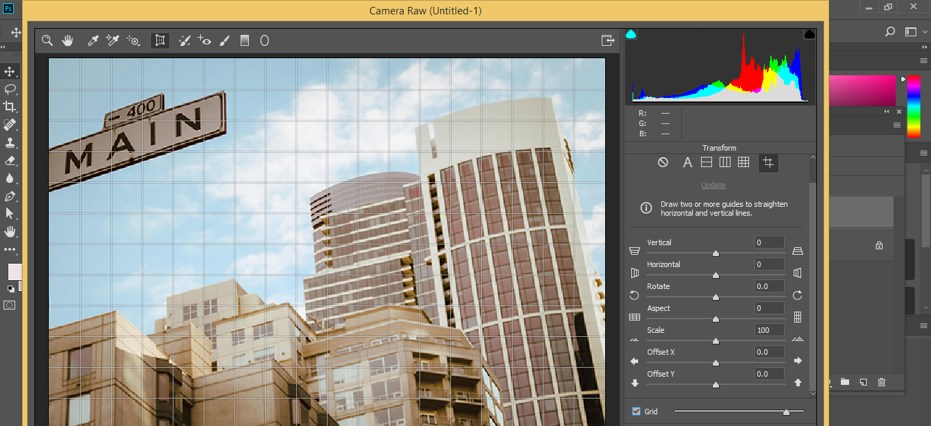 Fix Perspective in Photoshop - 17