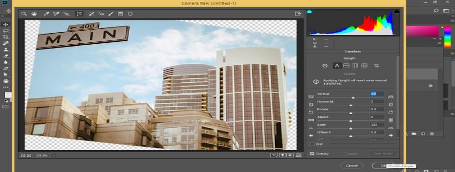 Fix Perspective in Photoshop - 18