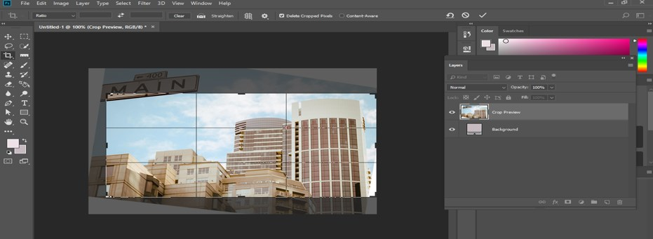 Fix Perspective in Photoshop - 19