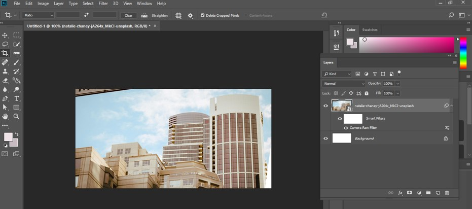 Fix Perspective in Photoshop - 20