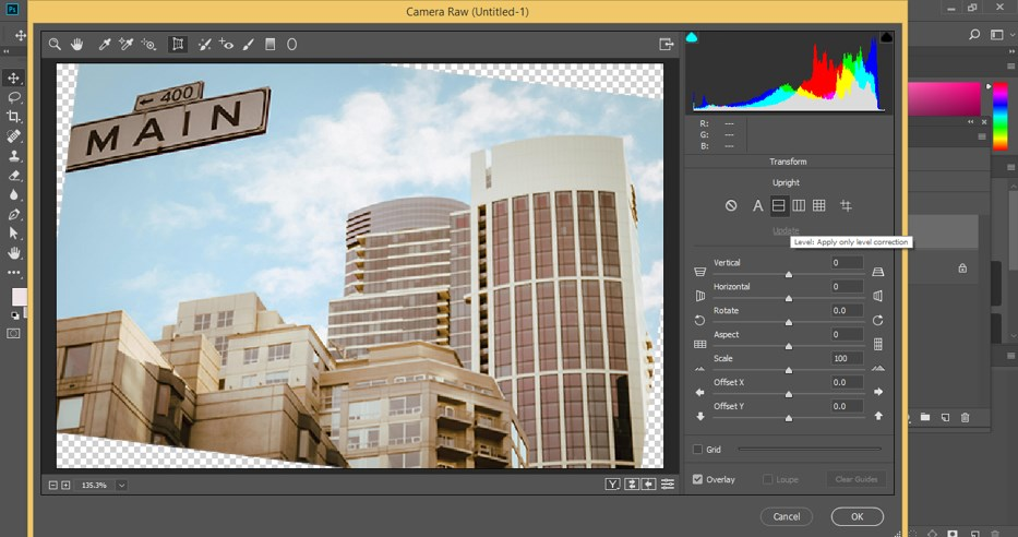 Fix Perspective in Photoshop - 9
