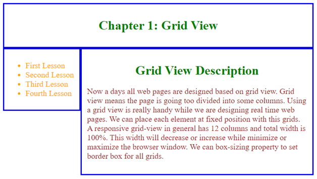 Gridview CSS Example 2