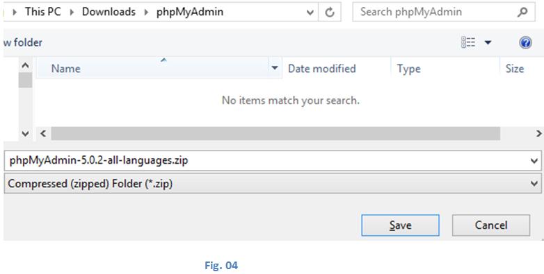 Install phpMyAdmin-1.4