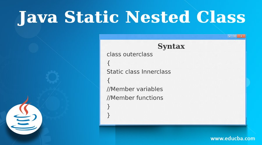 Java Static Nested Class