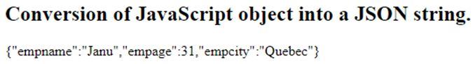 JavaScript Object Notation 1