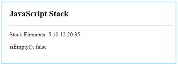 JavaScript Stack-2.2
