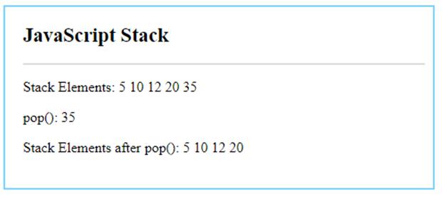 JavaScript Stack-4.2