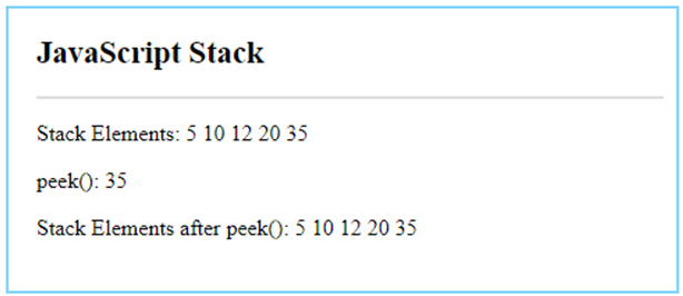 JavaScript Stack-5.2