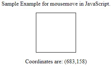 JavaScript mousemove-1.1