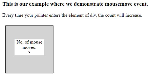 JavaScript mousemove-1.2