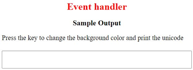 JavaScript onkeydown11