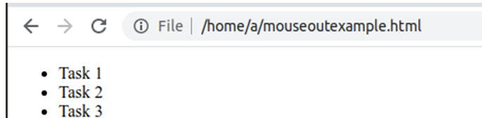 JavaScript onmouseout 4