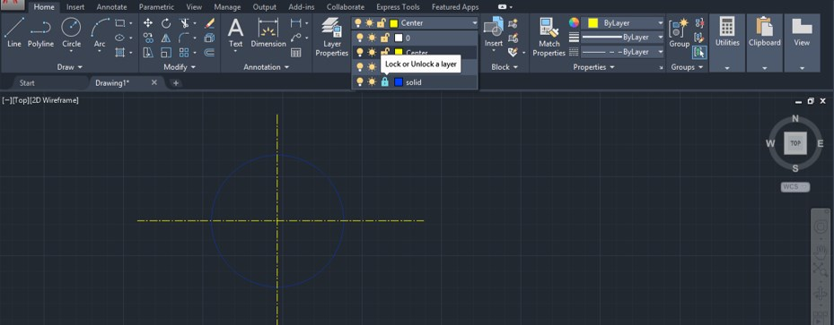 Layer Command in AutoCAD - 25