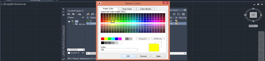color selector box
