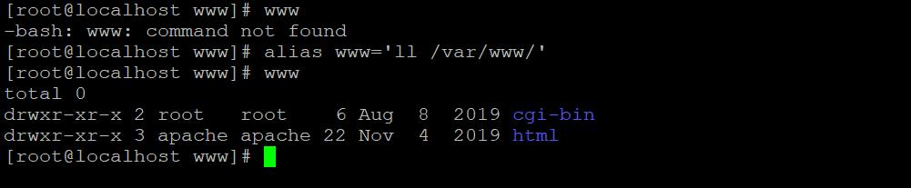 Linux Alias Command-3.1
