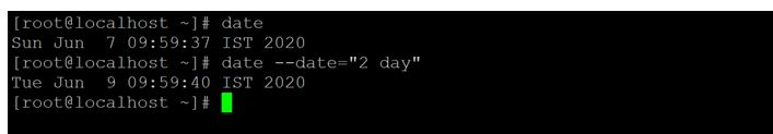 Linux Date 8