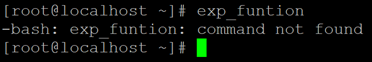 Linux Export Example 2