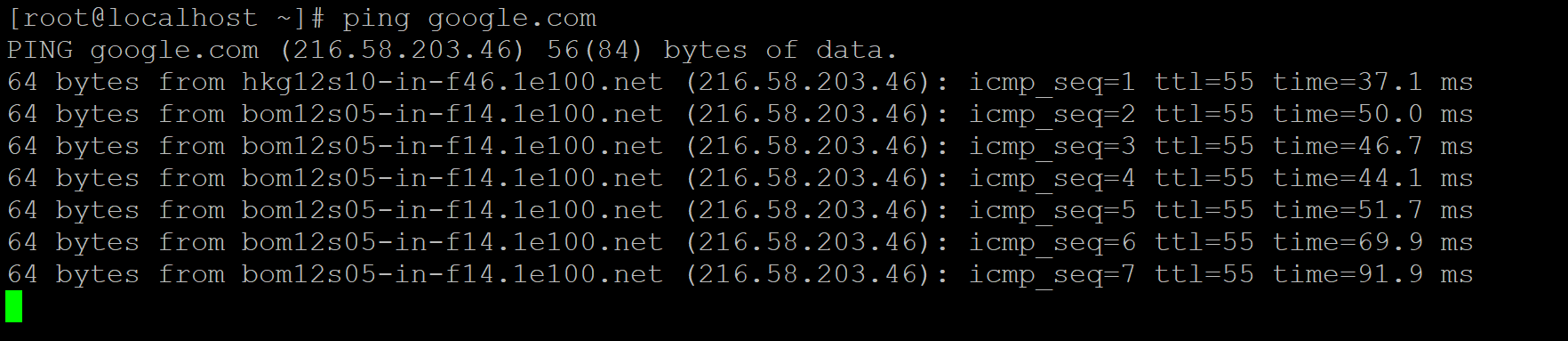 Linux Network Command-3.1
