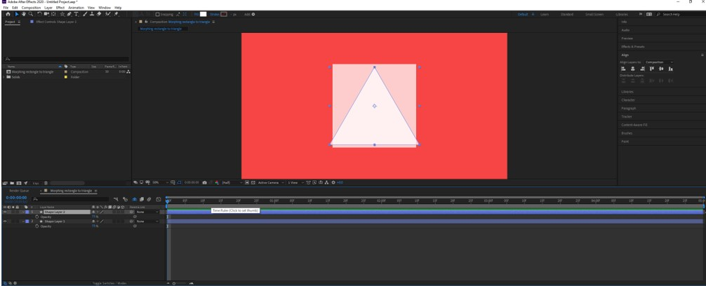 Morphing in After Effects - 5