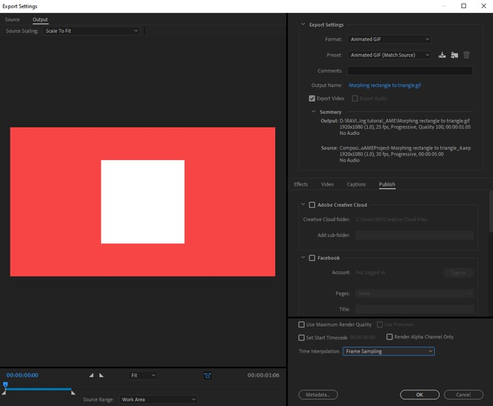 Morphing in After Effects - 8