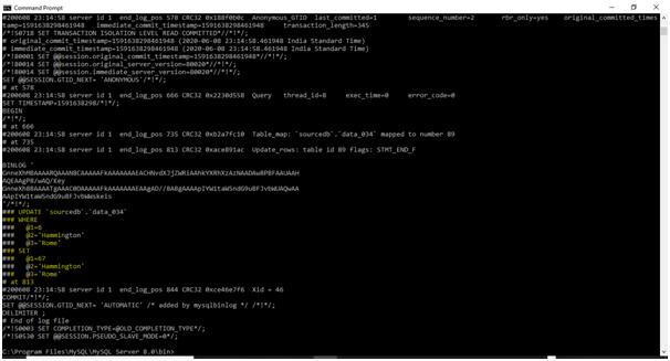 MySQL Binlog Example 4