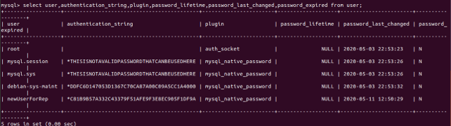MySQL Root Password 4