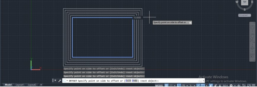 Offset in AutoCAD - 20