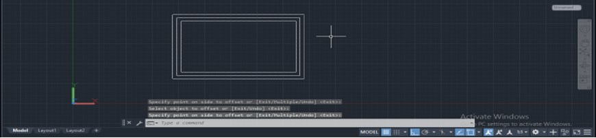 Offset in AutoCAD - 9