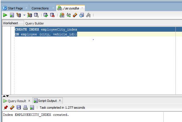 Oracle Index2