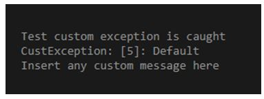 PHP Custom Exception 1