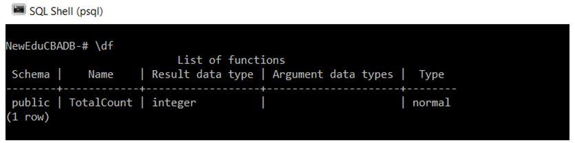PostgreSQL Commands 10