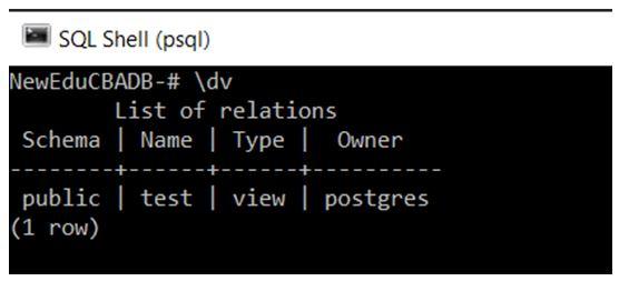 PostgreSQL Commands 11