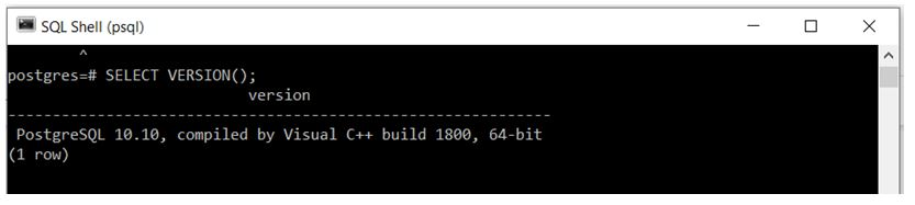 PostgreSQL Commands 3