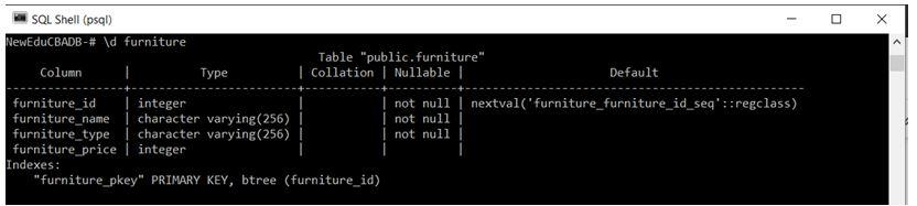 PostgreSQL Commands 8