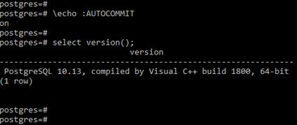 PostgreSQLTransaction Example 1
