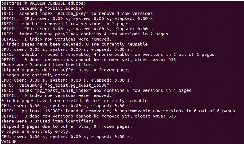 PostgreSQL Vacuum-1.6