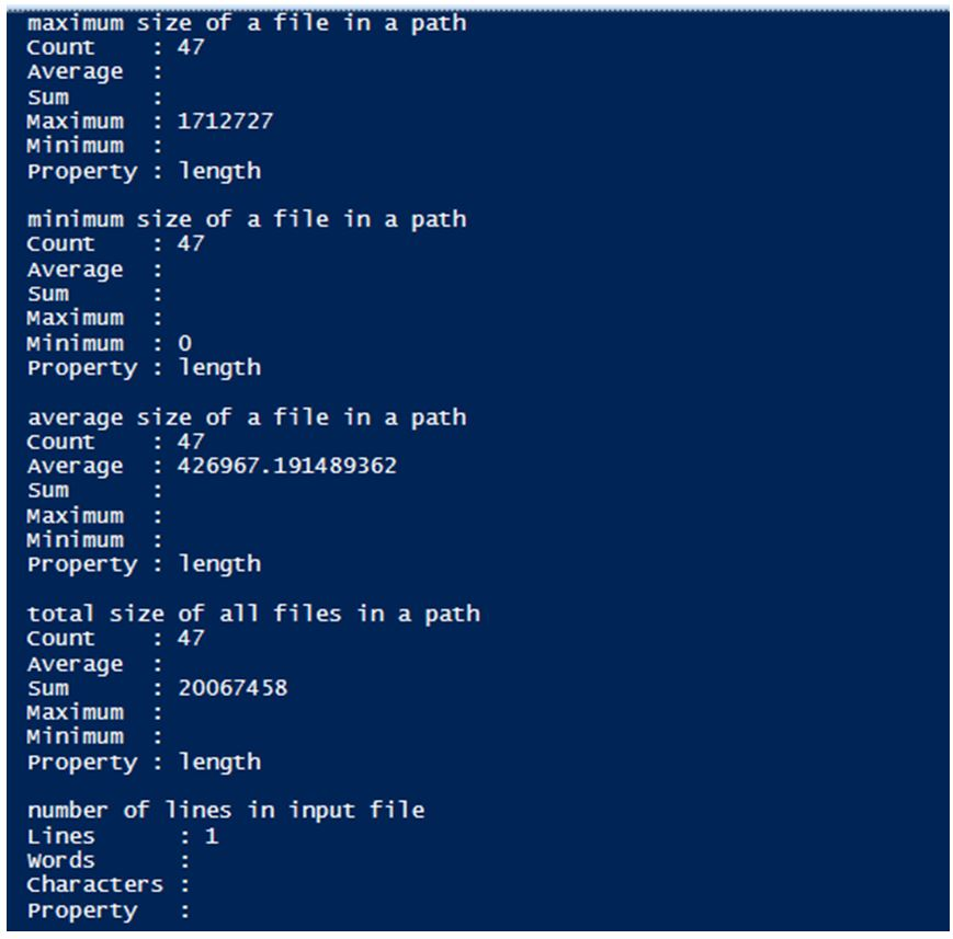 PowerShell Count 4