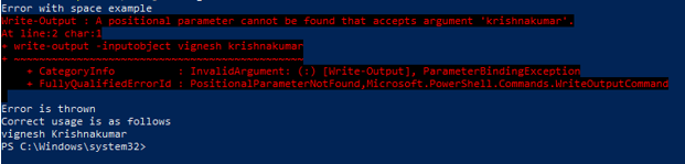 PowerShell Escape Character - 11