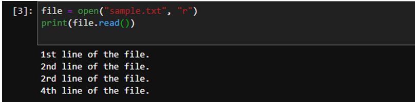 Python File Readline 1