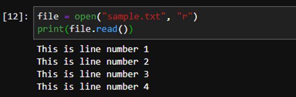 Python File Readline 9