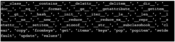 Python Iterator Dictionary Example 4