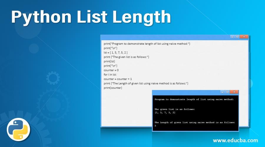 Python List Length