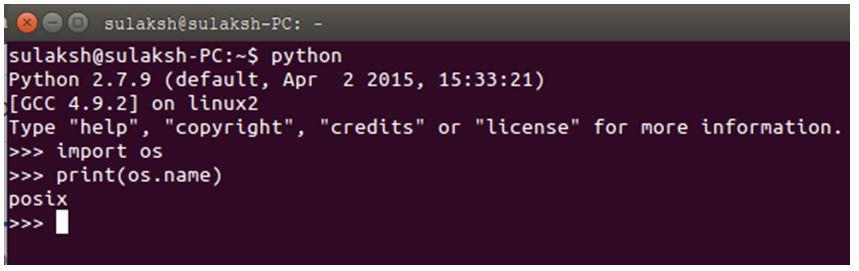 Python OS Module 1