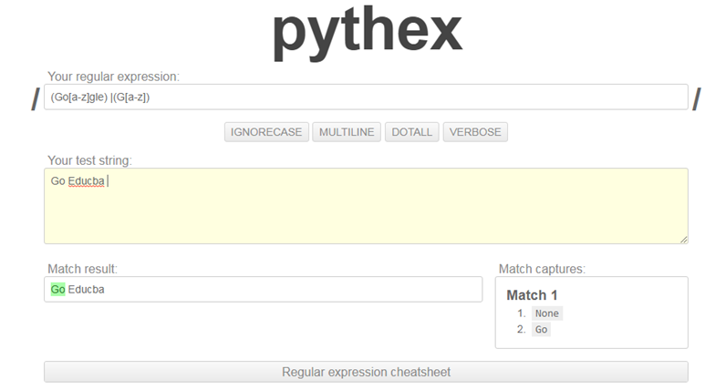 Python Regex Tester-1.2