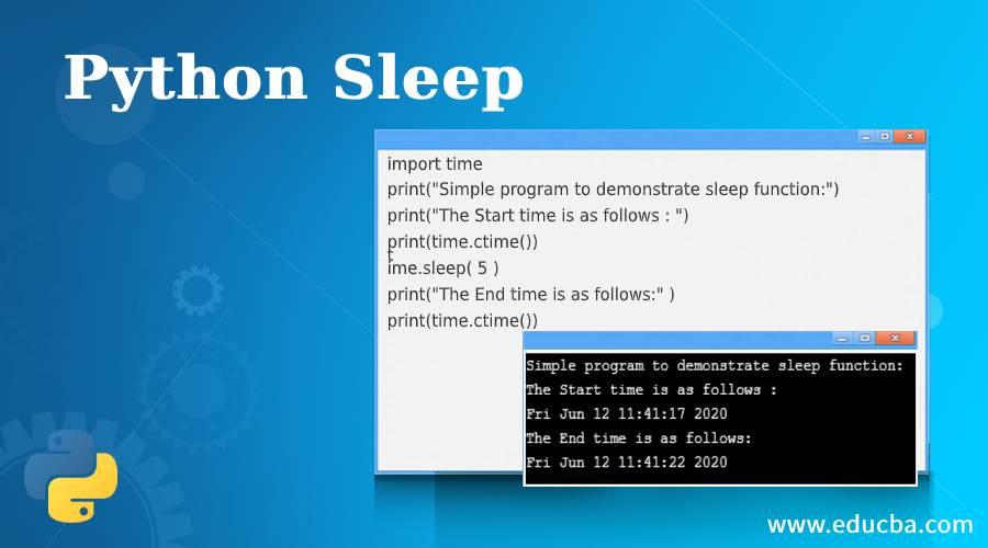 Python Sleep
